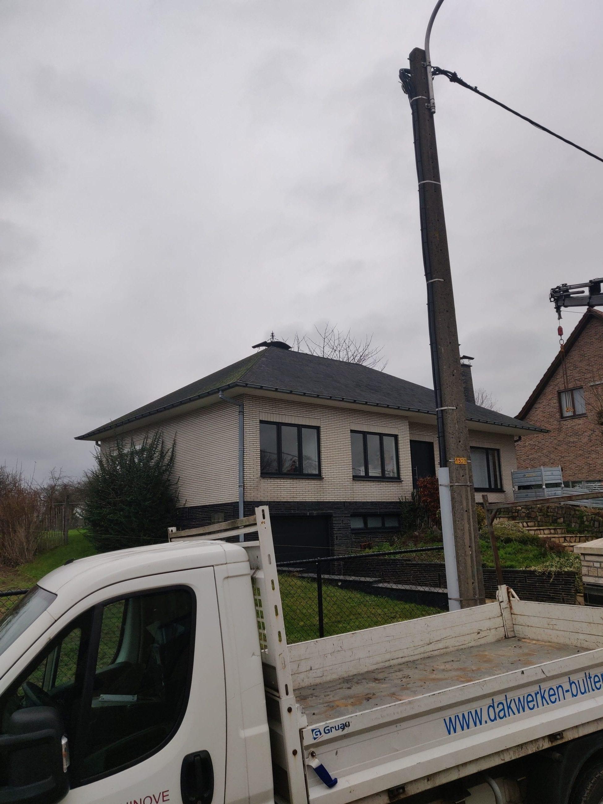 Renovatie Eternit TECTA leien donkergrijs 40/25 gallery image 2