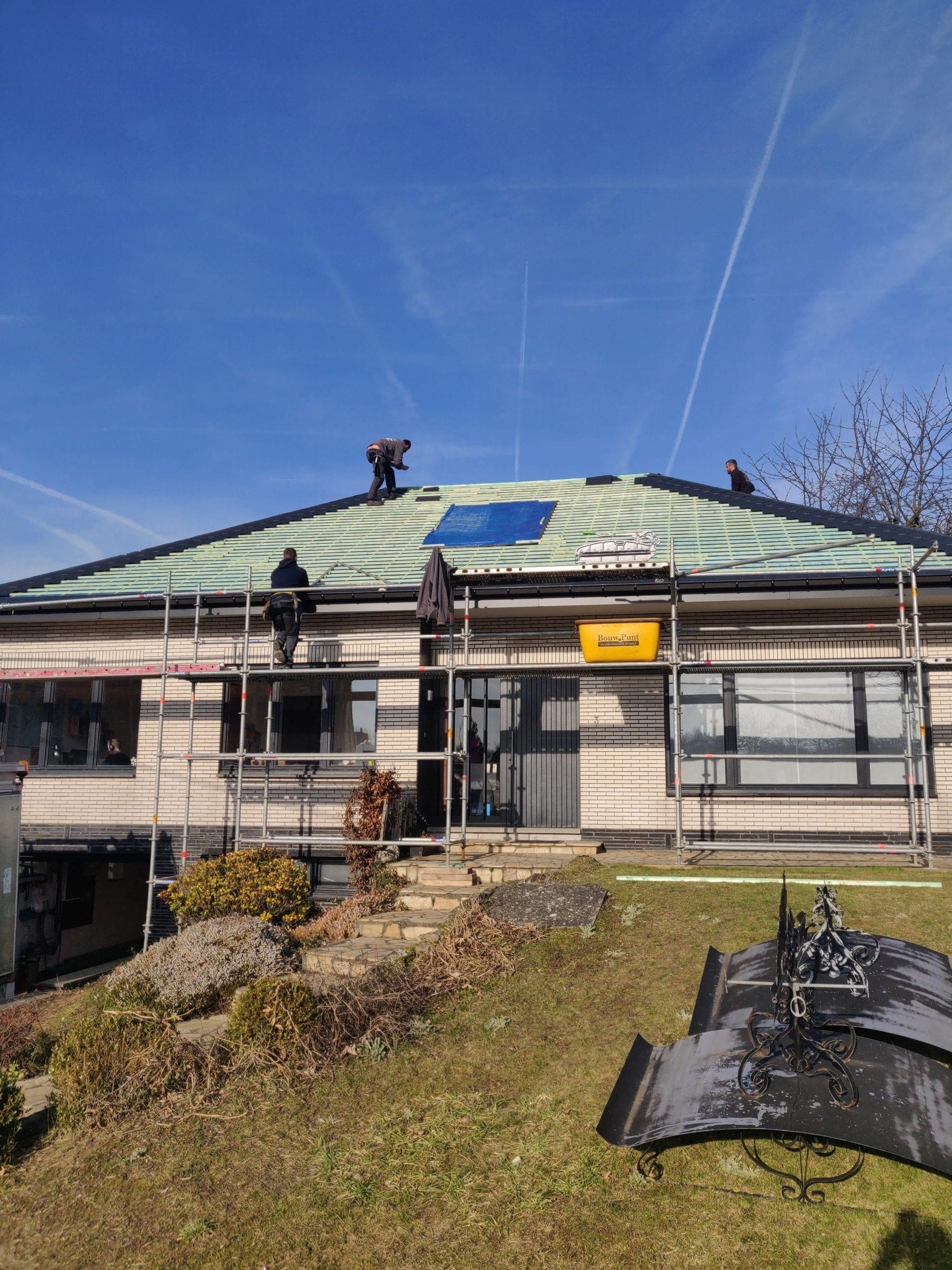 Renovatie Eternit TECTA leien donkergrijs 40/25 gallery image 3