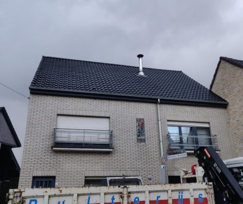 Renovatie project te Denderhoutem