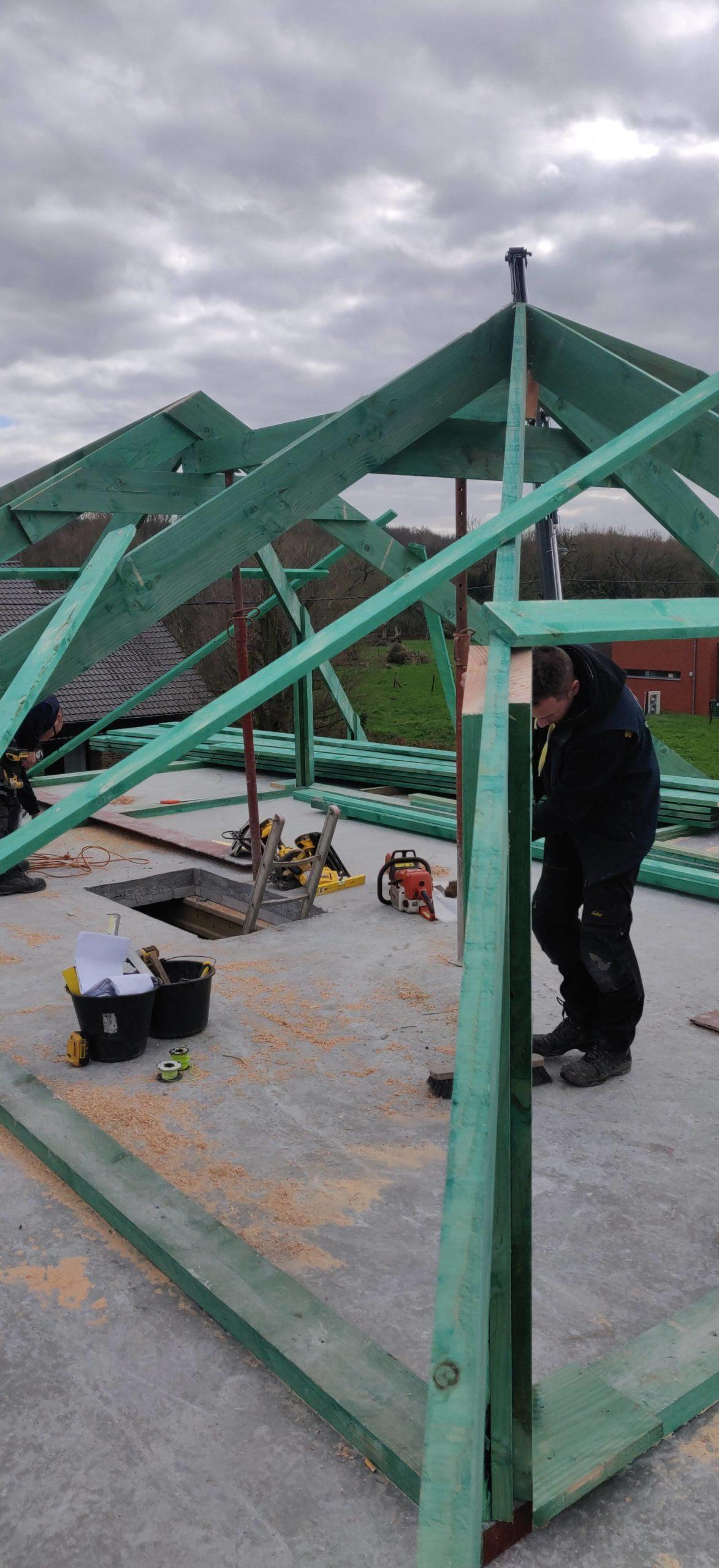 Nieuwbouw te Meerbeke gallery image 1