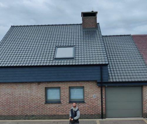 Totaalrenovatie van het dak te Welle.
